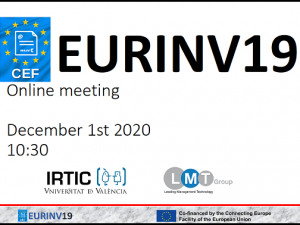 The EURINV19 project reaches the final implementation phase